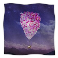 Never Stop Exploring IV Microfiber Fleece Throw Blanket