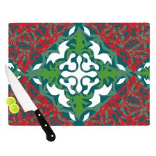 Lace Flakes Cutting Board