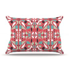 Stained Glass Pink Pillow Case