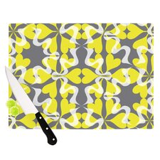 Flowering Hearts Cutting Board