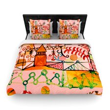 Happy Town Duvet Cover