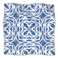 Blue Explosion Microfiber Fleece Throw Blanket