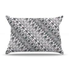Silver Lace Pillow Case