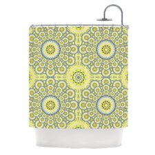 Multifaceted Polyester Shower Curtain