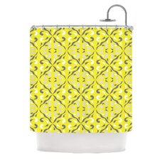 Seedtime Polyester Shower Curtain