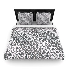 Silver Lace Duvet Cover Collection