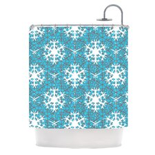 Precious Flakes Polyester Shower Curtain