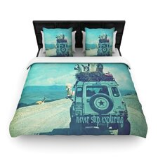 Never Stop Exploring III Duvet Cover Collection