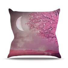 Song of The Springbird Throw Pillow