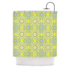 Budtime Polyester Shower Curtain