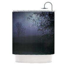 Song of The Nightbird Polyester Shower Curtain