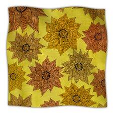 Its Raining Flowers Microfiber Fleece Throw Blanket