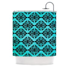 Eye Symmetry Pattern Polyester Shower Curtain
