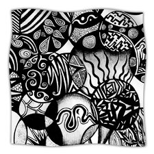 Circles and Life Microfiber Fleece Throw Blanket
