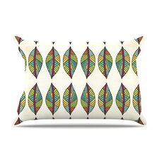 Tribal Leaves Pillow Case