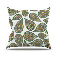 Its Raining Leafs Throw Pillow
