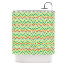 Bright and Bold Polyester Shower Curtain