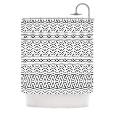 Tambourine Polyester Shower Curtain