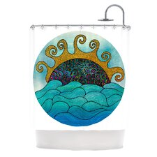 Oceania Polyester Shower Curtain