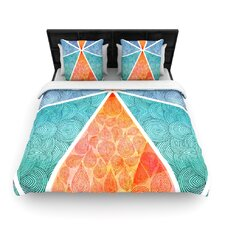 Geometric Reflection Duvet Cover Collection