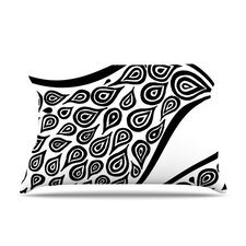 Bird In Disguise White Pattern Pillow Case