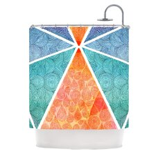 Pyramids of Giza Polyester Shower Curtain