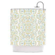 Infinite Thoughts Polyester Shower Curtain