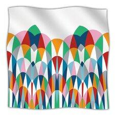Modern Day Arches Microfiber Fleece Throw Blanket