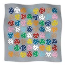 Roll with It On Grey Microfiber Fleece Throw Blanket