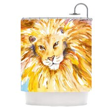 Wild One Polyester Shower Curtain