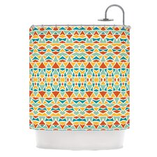 Tribal Imagination Polyester Shower Curtain