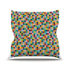 Colour Blocks Throw Pillow