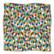 Harlequin Microfiber Fleece Throw Blanket