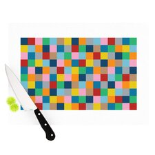 Colour Blocks Zoom Cutting Board