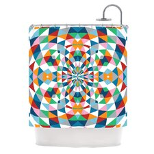 Modern Day Polyester Shower Curtain