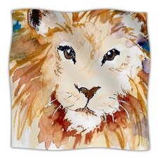 Leo Microfiber Fleece Throw Blanket