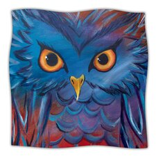 Hoot Microfiber Fleece Throw Blanket