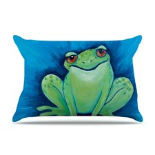 Ribbit Ribbit Pillow Case