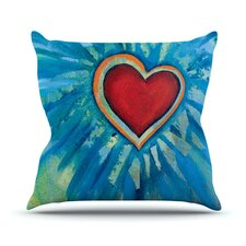 Love Shines On Throw Pillow