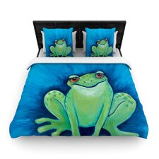 Ribbit Ribbit Duvet Cover Collection