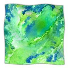 Touch of Blue Microfiber Fleece Throw Blanket