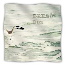 Dream Big Microfiber Fleece Throw Blanket