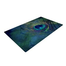 Plume Green/Blue Outdoor Area Rug