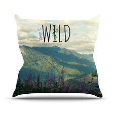 Keep It Wild Throw Pillow