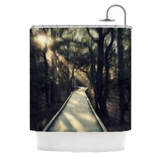 Dream Worthy Polyester Shower Curtain