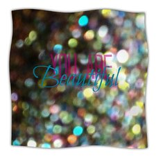 You Are Beautiful Microfiber Fleece Throw Blanket
