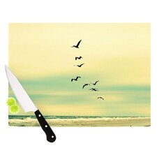 Across The Endless Sea Cutting Board