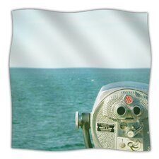 Ocean View Microfiber Fleece Throw Blanket