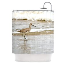 Counting The Waves Polyester Shower Curtain