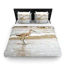 Counting The Waves Duvet Cover